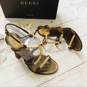 AUTHENTIC GUCCI Goddess Sandals
